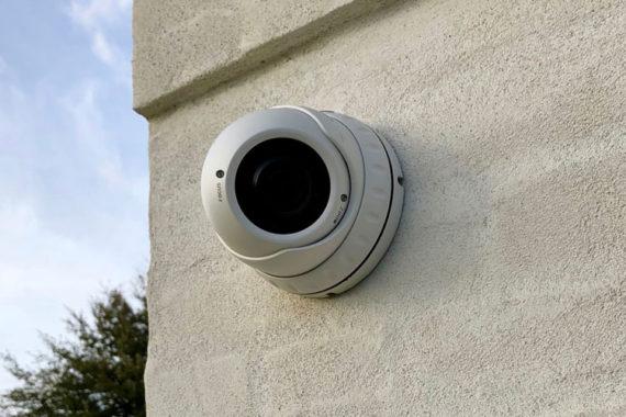 Videoovervågning med et dome kamera
